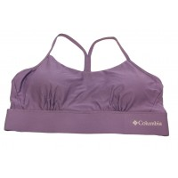 Columbia Women's Cross Back Bra - Low Support 1 Pack, Plum, X-Large
