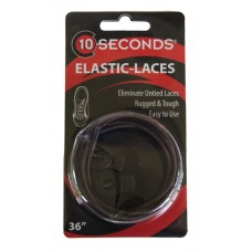 Ten Seconds Elastic Laces, Brown