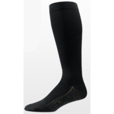 Aetrex Copper Sole Socks, Mens Compression Support, OTC, Black