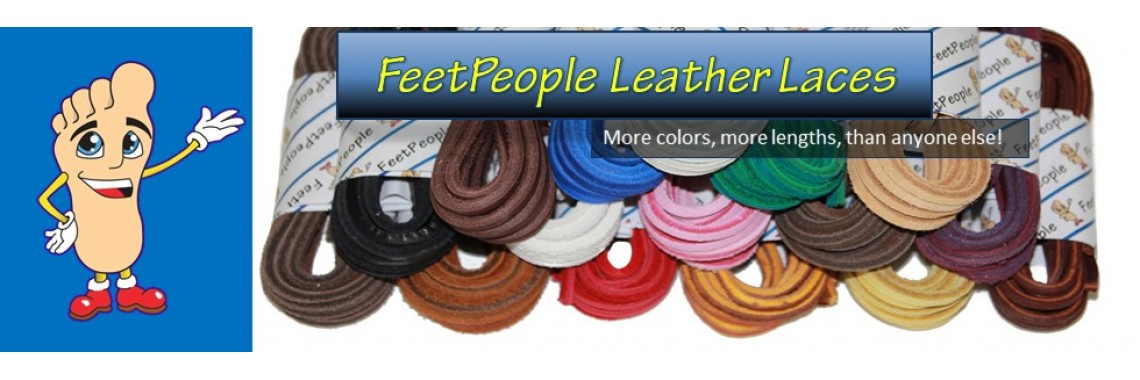 FeetPeople Leather Shoe Laces