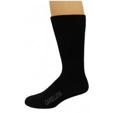 Carolina Ultimate Outdoor Obsession Crew Socks 1 Pair, Black, Men's 9-13