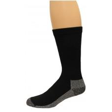 Carolina Ultimate Men's Work socks 1 Pair, Black/Grey Sole, Men's 9-13
