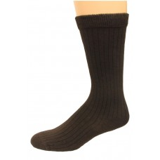 Carolina Ultimate Non-Binding Crew Socks 2 Pair, Brown, Men's 9-13
