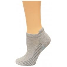 Carolina Ultimate Women's Tab Socks 3 Pair, White/Purple Stripe, Women's 6-9