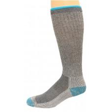 Carolina Ultimate Outdoor Obsession Merino Wool 1 Pair, Grey/Teal, Women's 6-9