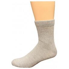 Carolina Ultimate Non-Binding Quarter Socks 2 Pair, Grey, Men's 13-16