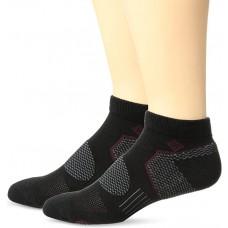 Columbia Balance Point Sport - Low Cut Socks, Black, M 10-13, 2 Pair