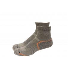 Columbia Balance Point Quarter Sport Sock 2 Pair, M10-13, Charcoal