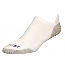 Drymax Run No Show Tab Socks,  White/Grey