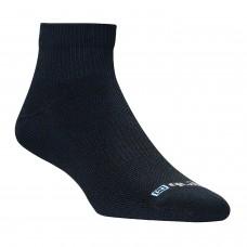 Drymax Run Thin 1/4 Crew Sock - Black