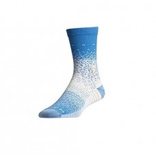 Drymax Thin Running Crew,  Big Sky Blue/Grey/White