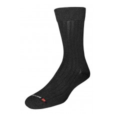 Drymax Dress Crew Socks,  Black