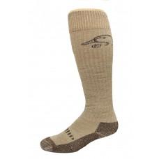 Ducks Unlimited Merino Wader Socks, 1 Pair, Brown, Medium, W 6-9 / M 4-9