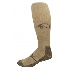 Ducks Unlimited Merino Wader Socks, 1 Pair, Brown, X-Large, M 12-16