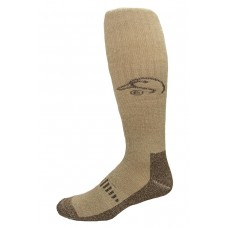 Ducks Unlimited Merino Wader Socks, 1 Pair, Brown, X-Large, M 12-16