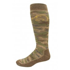 Ducks Unlimited Camo Tall Boot Socks, 1 Pair, Camo, Large, W 9-12 / M 9-13