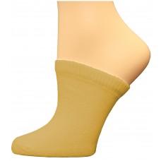 FeetPeople Premium Clog Socks 1 Pair, Nude