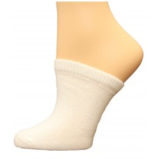 FeetPeople Premium Clog Socks 1 Pair, White