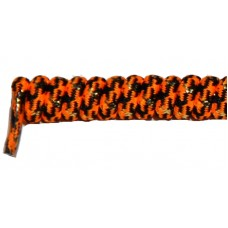 FeetPeople Curly Laces, Orange/Black/Gold
