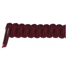 FeetPeople Curly Laces, Burgundy