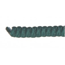 FeetPeople Curly Laces, Dark Green