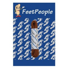 FeetPeople Round Dress Laces, Brick