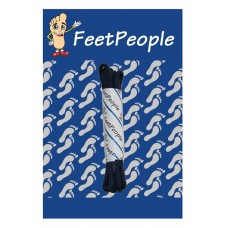 FeetPeople Round Dress Laces, Navy