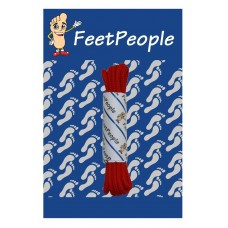 FeetPeople Round Dress Laces, Red