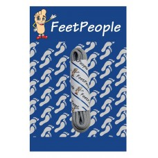 FeetPeople Round Dress Laces, Ultra Grey