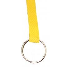 FeetPeople Flat Key Chain, Yellow