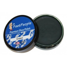 FeetPeople Premium Shoe Polish, 1.625 Oz., Green