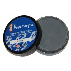 FeetPeople Premium Shoe Polish, 1.625 Oz., Grey
