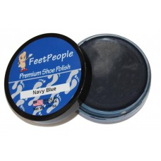 FeetPeople Premium Shoe Polish, 1.625 Oz., Navy