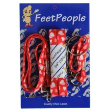 FeetPeople Printed Hearts Combo (Laces, Keychain, Lanyard)
