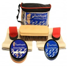 FeetPeople Premium Conditioning Kit with Travel Bag, Tan