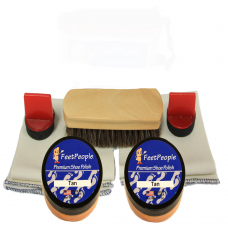 FeetPeople Premium Leather Care Refill Kit, Tan