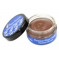 FeetPeople Premium Shoe Cream 1.5 oz, Fashion Brown