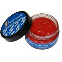 FeetPeople Premium Shoe Cream 1.5 oz, Scarlet