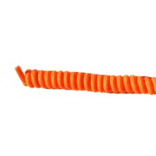 FootGalaxy Twister Curly Laces, Neon Orange