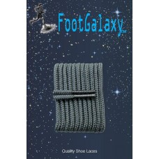 FootGalaxy High Quality Round Laces For Boots And Shoes, Charcoal