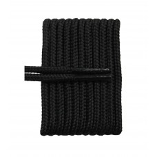 FeetPeople High Quality Round Laces For Boots And Shoes, Black
