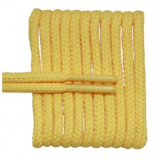 FootGalaxy High Quality Round Laces For Boots And Shoes, Yellow