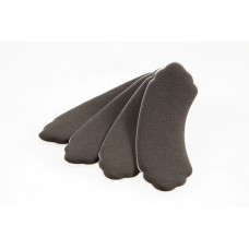 Foot Petals Heavenly Heelz (Black Iris)