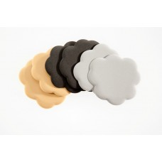 Foot Petals Tip Toes Triple Pack (Black/Silver/Buttercup)