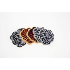 Foot Petals Tip Toes Triple Pack (Tiger/Zebra/Leopard)