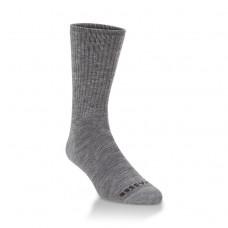 Hiwassee Full Cushion Performance Mini Crew Socks 1 Pair, Charcoal, Large
