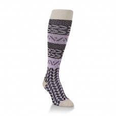 Hiwassee Downtown Knee High Socks 1 Pair, Lavender, Medium