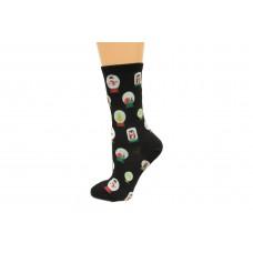 Hot Socks Snowglobes Women's Socks 1 Pair, Black, Women's Shoe Size 9-11