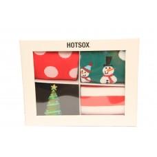 HotSox Mens Men's Holiday Gift Box Socks, 1 Pair, Shoe Mens 6-12.5