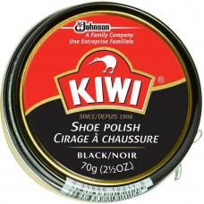 Kiwi Shoe Polish, Black, 2.5 Ounces